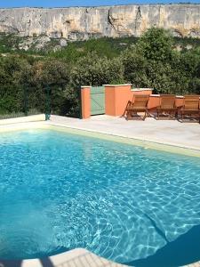 Piscine chambre d'hotes Luberon Provence