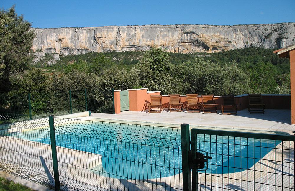 chambre d'hôtes Luberon avec piscine Lioux