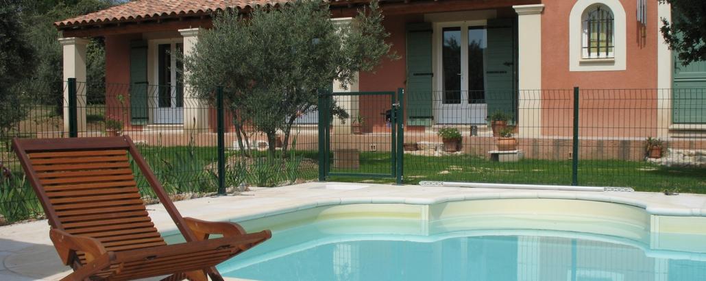 maison d'hôtes piscine en Luberon