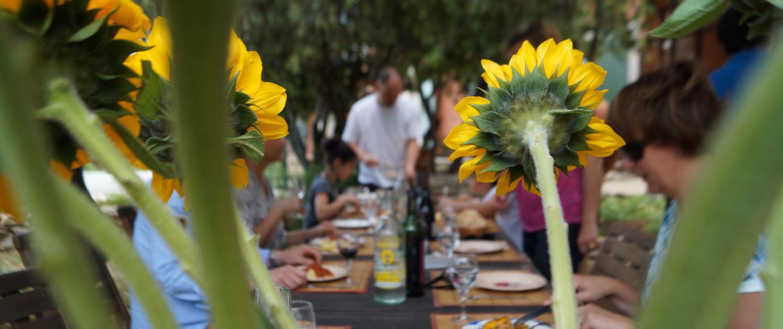 table d''hôtes et convivialité en Luberon